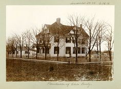 """""""How an architect designs his own home"""" This article from the Edwardsville Intelligencer showcases the Charles Pauly House. Mr. Pauly's architectural firm, Charles Pauly & Son, designed a number of buildings in Granite City, including the Delmar Avenue library and Niedringhaus School."""