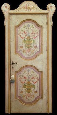 25 fantastiche immagini su Porte Riprodotte Dipinte | Doors, Painted ...