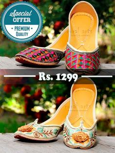 Combo Offer For Embroidered Jutti