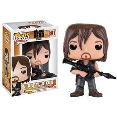 Funko Pop de Daryl Dixon de The Walking Dead. Por favor, qué cosa más graciosa. Todo fan que se precie de la serie tiene que hacerse con esta figura funko. #thewalkingdead #regalosoriginales #funko #zombies #daryldixon #quechuli
