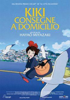 """""""Kiki - Consegne a domicilio"""" di Hayao Miyazaki"""
