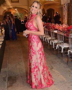 vestido de festa para madrinha de casamento