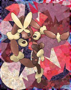 Prism by Macuarrorro.deviantart.com on @DeviantArt. #Pokemon #MegaLopunny #fanart