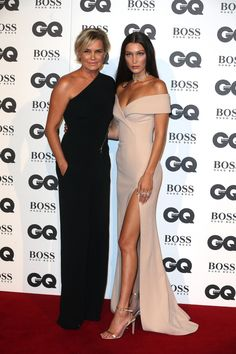 Yolanda Foster et Gigi Hadid aux GQ Men of the Year Awards 2016 Yolanda Foster, Gigi Hadid, Bella Hadid, Yolanda Hadid Modeling, Love Fashion, Fashion Beauty, Mother Daughter Photography, Sweet Dress, Military Fashion