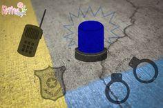 Plotterdatei Freebie Polizei