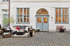 Pequeno loft com decoração de um grande ~ Decoração e Ideias | casa e jardim