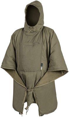 Helikon-Tex Swagman Roll Poncho, Bushcraft Line Outdoor Outfit, Outdoor Gear, Stylish Men, Men Casual, 1950s Jacket Mens, Tactical Clothing, Rain Gear, Cool Gear, Bushcraft