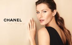 CHANEL chooses the TOP Gisele Bundchen as image of it´s new make up line, read all about it in MAGSC;  http://www.stylecode.es/espaciosc/news.php