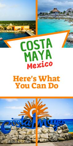 Do You Want Worldwide Vehicle Coverage? During A Cruise Vacation Here Is What You Can Do While In Costa Maya, Mexico. We should Read This Travel Guide. Packing List For Cruise, Cruise Travel, Cruise Vacation, Cruise Tips, Vacations, Italy Vacation, Travel Packing, Costa Maya Mexico, Cozumel Mexico