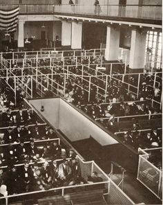 ellis island c1900 Do immigrants from south of America come through something like this today?  I understand they would have to be willing--otherwise they cross illegally.  What's changed?  This is where my grandparents came to the U.S. from Europe.