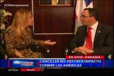La Entrevista De Nuria Piera Al Canciller Dominicano #Video