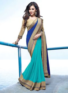 Latest Indian Party Wear Sarees Collection