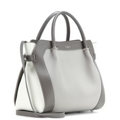 Nina Ricci Marché Small Leather Tote ($1,045) ❤ liked on Polyvore