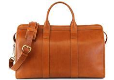 Frank Clegg - Signature Travel Duffle  $965-1065 http://frankcleggleatherworks.com/signature-travel-duffle-harness-belting-leather.html