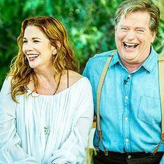 Melissa Gilbert and Dean Butler