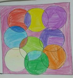 #CircleArt #Multicolour