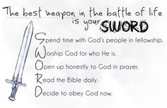 Great for Armor of God: