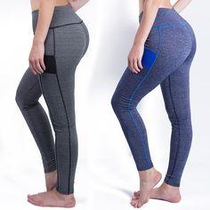2016 Women Sexy Leggings Fitness High Waist Elastic Comfortable Super Stretch Women Leggings Workout Leggins Trousers  Pan #Affiliate