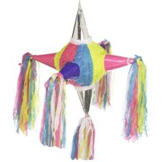 6-Point Star Pinata 22in x 22in x 22in - Party City