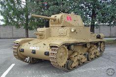 Carro Armato M15/42 Tank , Caserma Fratelli De Carli, Cordenons, Italy