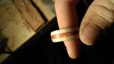 make yourself a wooden ring