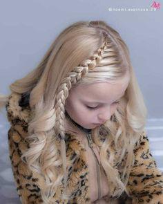 160 Braids Hairstyle Ideas for Little Kids 2019 – Braided hairstyles Kids Braided Hairstyles, Little Girl Hairstyles, Trendy Hairstyles, Short Haircuts, School Hairstyles, Hairdos, Braids For Kids, Girls Braids, Little Girl Braids
