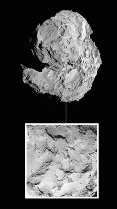 Landeplatz für Kometensonde Philae steht fest  http://grenzwissenschaft-aktuell.blogspot.de/2014/09/landeplatz-fur-kometensonde-philae.html  Abb.: ESA/Rosetta/MPS for OSIRIS Team, et al.