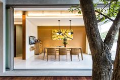 Baan Yo Yen | Situated in Nonthaburi, Thailand, this modern 4,843 square foot residence was designed in 2013 by TA-CHA Design.