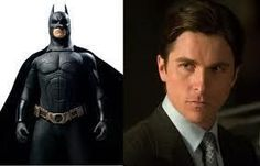 Batman and Bruce Wayne!  (Christian Bale) <3