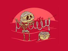 Halloween Wallpaper Mummy
