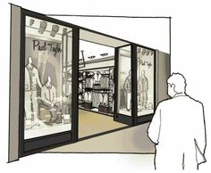 The Yard Creative - front enterance mensware store