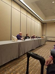 Research panel with Jeff Adams and Wade Kelly (pic by Melyna Drache)