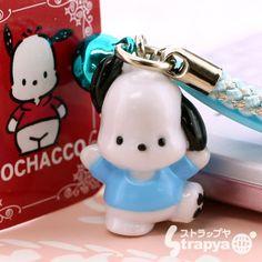 pochacco cell phone charm