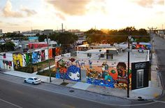 """n honor of the late Tony Goldman -- the visionary real estate developer and founder of Miami's Wynwood Walls -- there will be a special tribute entitled """"Come and Dream"""" that launches during AB/MB in-and-around theintersection of 25th Street and NW 2nd Avenue in Miami. #ArtBasel"""