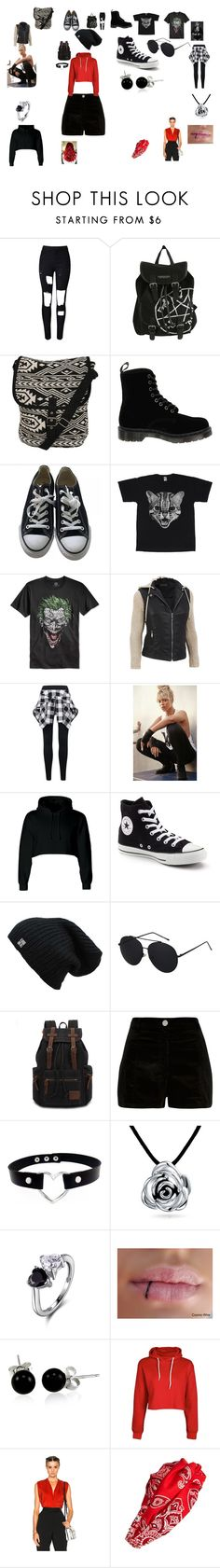 """""""My summer collection"""" by theneighbourhoodpunk13 on Polyvore featuring Pilot, Dr. Martens, Converse, Bioworld, Topshop, River Island, Bling Jewelry, Lanvin, Cara and plus size clothing"""