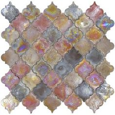 This glossy bronze spectrum ridge tile is perfect for any bathroom or kitchen mosaic. Buy this arabesque mosaic tile online today at Glass Tile Oasis. Kitchen Mosaic, Mosaic Tiles, Kitchen Backsplash, Mosaic Backsplash, Glass Tiles, Tile Art, Wall Tiles, Ridge Tiles, Iridescent Tile