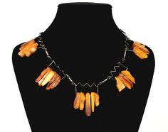 Ships from Germany. An unusual Baltic butterscotch amber necklace. Ausgefallene Butterscotch Bernsteinkette aus den 20er Jahren. Bernstein Collier. ANTIK & KUNST. | eBay!