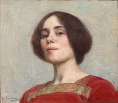 Elin Kleopatra Danielson-Gambogi – Omakuva, was a Finnish painter. She is best known for her realist works and potraits. Self-Portrait 1903 Figure Painting, Painting & Drawing, Modern Artists, Art Graphique, Oeuvre D'art, Figurative Art, Female Art, Art Museum, Art History