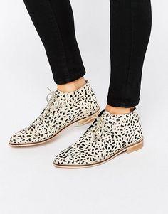 Imagen 1 de Zapatos planos de cuero MARLS de ASOS