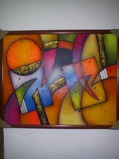 bellos-cuadros-abstractos-decorativos-modernos-pintura-oleo-11059-MLV20038278648_012014-O.jpg (375×500)