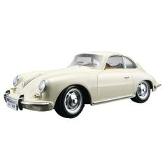 1961 Porsche 356 B Coupe Ivory 1:24 Diecast Model Car by Bburago. $13.99. Bburagos range of 1/24 scale die cast cars offer the collector detail and value for money. With subjects spanning motoring eras old and new and from some of the worlds biggest car names, theres sure to be something for all collections. Each model has been replicated in 1/24 scale meaning you can collect and show more in a smaller space. The cars feature a factory painted metal body with m...