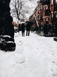 How i remember New York winters