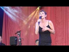 Lisa Stansfield performing on Saturday 5th July 2015 at the Love Supreme Festival singing 'Been Around the World