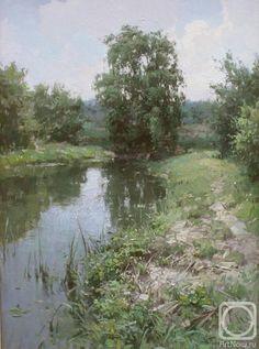 Прядко Юрий. Этюд на Десенке Ukrainian painter Pryadko Jury