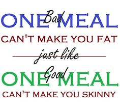 truth.... you feel better about your self eating healthy.