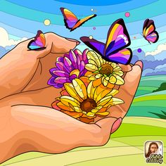 Coloring Apps, Paint By Number, Beautiful Flowers, Pikachu, Bible, Butterfly, Artwork, Fictional Characters, Numbers