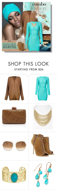 """""""Fashion combo..."""" by nannerl27forever ❤ liked on Polyvore featuring Poesia, Boohoo, Balmain, Serpui, Kendra Scott, Chloé, Michael Kors and Laundry by Shelli Segal"""