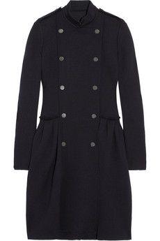 wool-jersey coat ++ lanvin