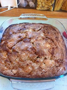 Herman the German Friendship Cake.  I had this today at my grandmother's and it was amazing.  And hey, who doesn't want to share cake?!