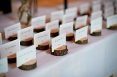 CUSTOM ORDERS (to suit your numbers) are AVAILABLE - Solid wood Place card discs/escort card holders (message for specifics) Rustic Place Cards, Wedding Place Cards, Rustic Place Card Holders, Unique Wedding Favors, Rustic Wedding, Wedding Ideas, Wedding Decor, Wedding Reception, Wedding Inspiration